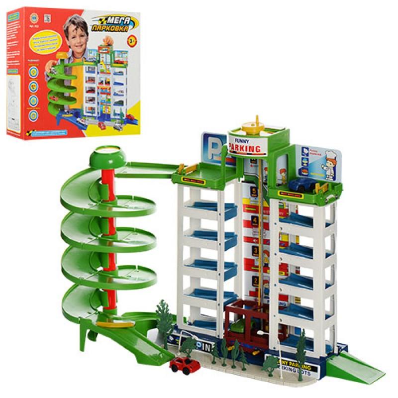 Гараж 922 (12шт) 6 этажей, 4машинки, в кор-ке, 39,5-34-5-10см